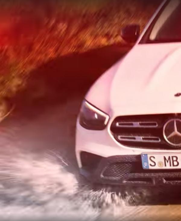 2020 Mercedes-Benz E-Class All Terrain Teaser Wants You To