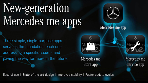 Mercedes me companion apps updated new versions | Mercedes ...