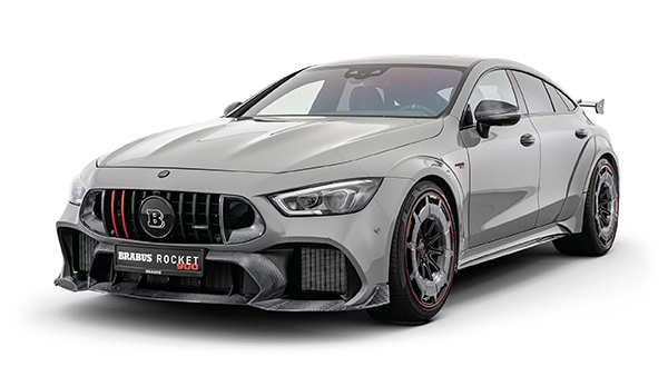 Brabus Rocket 900 Based On The Mercedes-AMG GT 63 S   Mercedes-Benz  Worldwide